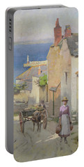 Newlyn From The Bottom Of Adit Lane Portable Battery Charger