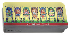 No Parking Zone Portable Battery Charger