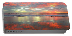 Portable Battery Charger featuring the photograph North County Reflections by John F Tsumas