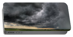 North Dakota Thunderstorm Portable Battery Charger
