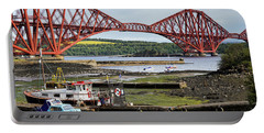 Portable Battery Charger featuring the photograph North Queensferry by Jeremy Lavender Photography