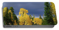 Portable Battery Charger featuring the photograph North Rim Fall  by Broderick Delaney