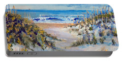 North Topsail Beach Portable Battery Charger by Jim Phillips