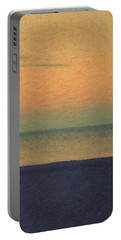 Not Quite Rothko - Breezy Twilight Portable Battery Charger