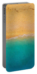 Not Quite Rothko - Surf And Sand Portable Battery Charger