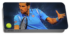 Novak Djokovic Portable Battery Charger