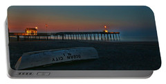 Ocean City  N J Sunrise Portable Battery Charger by Allen Beatty