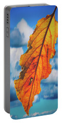 October Leaf B Fine Art Portable Battery Charger