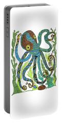 Octopus' Garden Portable Battery Charger