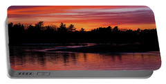 Odiorne Point Sunset Portable Battery Charger