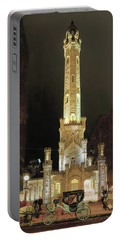 Old Chicago Water Tower Portable Battery Charger