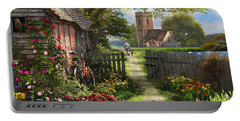 Old Church Path Portable Battery Charger