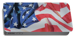 Old Glory Portable Battery Charger
