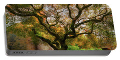 Old Japanese Maple Tree Portable Battery Charger