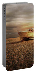 Old Wooden Boat Portable Battery Charger
