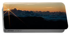 Portable Battery Charger featuring the photograph On Top Of The World by Colleen Coccia