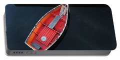 Orange Dinghy Portable Battery Charger