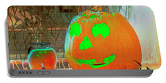 Orange Halloween Decoration Portable Battery Charger