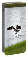 Osprey Fishing In The Afternoon Portable Battery Charger