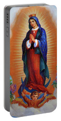 Our Lady Of Guadalupe - Virgen De Guadalupe Portable Battery Charger
