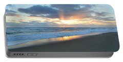 Portable Battery Charger featuring the photograph Outer Banks Sunrise  by Barbara Ann Bell