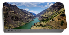 Oxbow Dam Tailwater Idaho Journey Landscape Photography By Kaylyn Franks  Portable Battery Charger