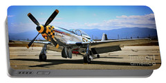 P-51 Mustang Kimberley Kaye Portable Battery Charger