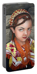 Pakistani Girl Portable Battery Charger