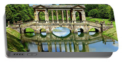 Palladian Bridge Nature Scene Portable Battery Charger