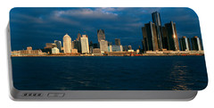 Panoramic Sunrise View Of Renaissance Portable Battery Charger