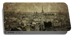 Paris Portable Battery Charger by Diane Diederich