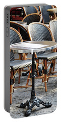 Parisian Cafe Terrace Portable Battery Charger