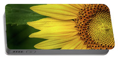 Partial Sunflower Portable Battery Charger