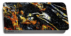 Portable Battery Charger featuring the photograph Patterns In Stone - 189 by Paul W Faust - Impressions of Light