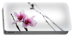 Peach Blossom Portable Battery Charger