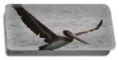 Pelican In Flight Portable Battery Charger by Laurel Talabere