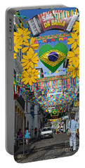 Pelourinho - The Historic Center Of Salvador Portable Battery Charger