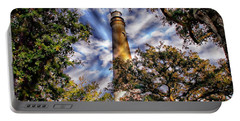 Pensacola Lighthouse Portable Battery Charger by Anthony Dezenzio
