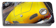 Photoshopping The #yellow #karminnghia Portable Battery Charger
