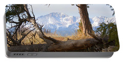 Pikes Peak And Trail To Bald Mountain Portable Battery Charger