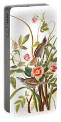 Portable Battery Charger featuring the photograph Pink Roses by Munir Alawi