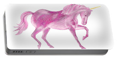 Pink Unicorn Portable Battery Charger