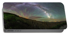 Portable Battery Charger featuring the photograph Pinnacles  by Aaron J Groen