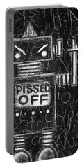 Pissed Off Bot Portable Battery Charger