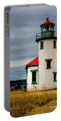 Point Robinson  Lighthouse,vashon Island.wa Portable Battery Charger