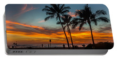 Poipu Beach Sunset - Kauai Hi Portable Battery Charger