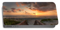 Ponce De Leon Inlet Beach Path Portable Battery Charger