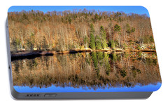 Portable Battery Charger featuring the photograph Pond Reflections by David Patterson