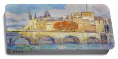 Pont Neuf, Paris Portable Battery Charger