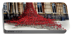 Poppies - City Of Culture 2017, Hull Portable Battery Charger